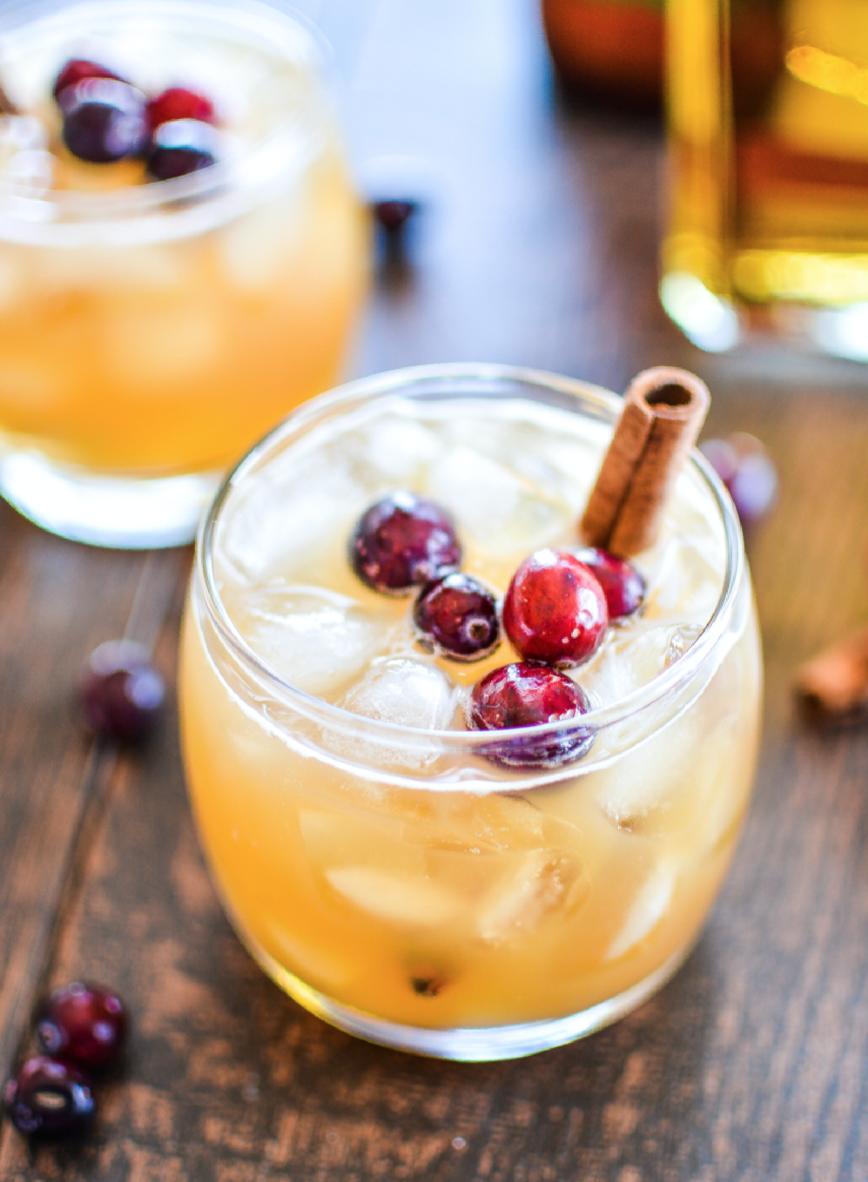 Apple & Pumpkin Beer Cocktail